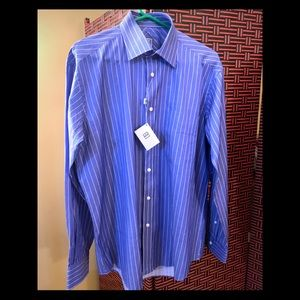 Ike Behar Mens Dress Shirt